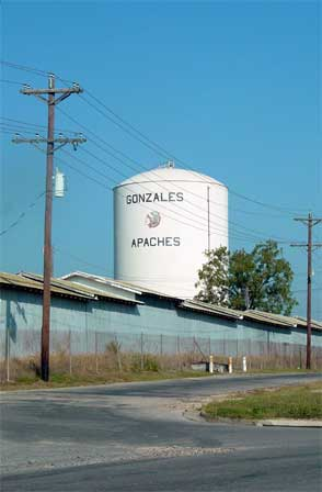 Gonzales, Texas; photograph by Kay